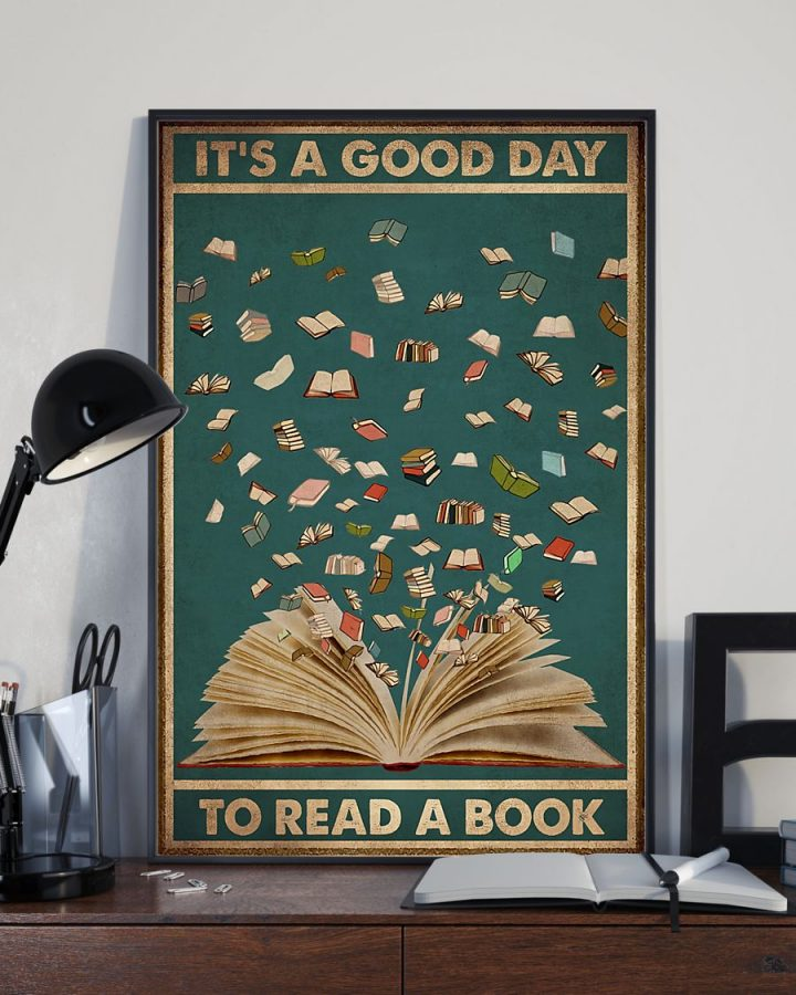 Librarian It is A Good Day To Read A Book Poster