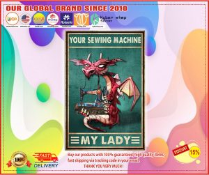 Dragon your sewing machine my lady