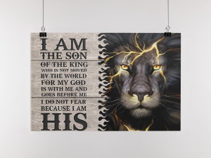 Poster I am the son of the king