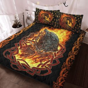 Viking fenrir was bound bedding set 2