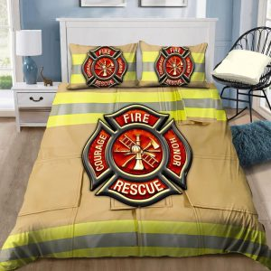 Firefighter Fire Honor Rescue Courage bedding set