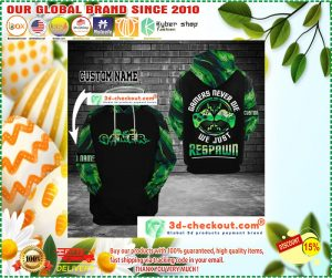 Gamer never die we just respawn custom name 3D hoodie 4
