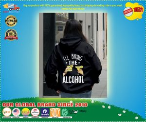 I'll bring the alcohol 3D hoodie 3