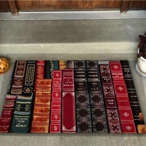 Librarian welcome doormat