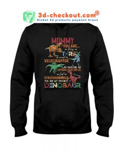 Mommy dinosaur you are strong T-shirt 2