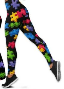 Autism rose accept understand love tank top and legging