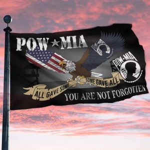 Pow mid all gave some some gave all you are not forgotten flag