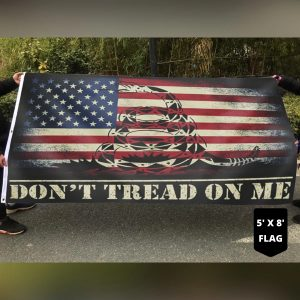 Snake Don't tread on me flag 3